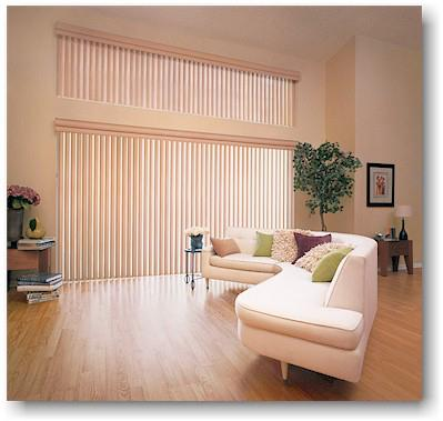 Window treatment ideas for sliding glass doors for Marvin window shades cost