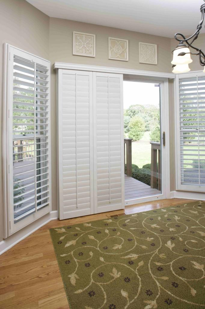 plantation shutters for sliding glass doors naples fl window treatments bi fold with vertical