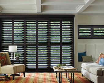 using plantation shutters for sliding glass doors