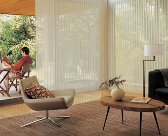 Using Shades for Sliding Glass Doors
